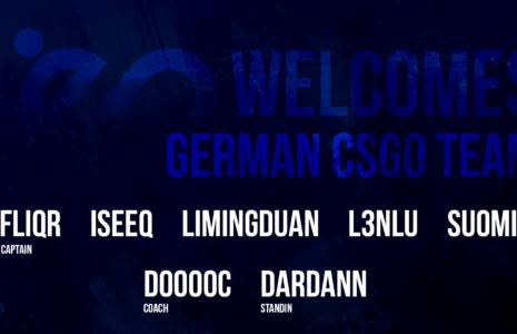 Welcome CSGO.de Team